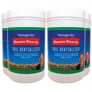 Bloomin Mineral Soil Revitalizer Product Page