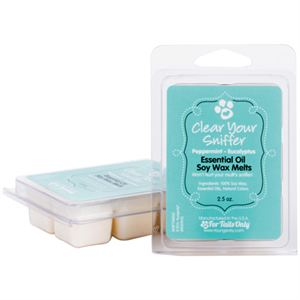 Clear Your Sniffer - Essential Oil Soy Wax Melts Product Page