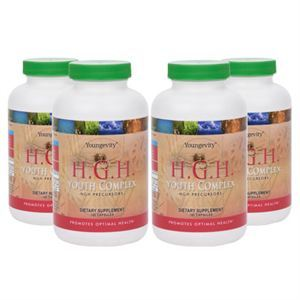 H.G.H. Youth Complex  HGH Precursors  4 bottles  Product Page