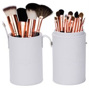 Mineral Makeup Brush Kit - White Case Product Page
