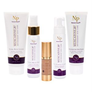 Muscadine 20 Skin Care Collection  5pc  Product Page