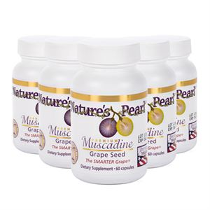 Premium Muscadine Grape Seed Product Page